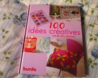 Burda book - 100 creative ideas throughout the seasons - creative women