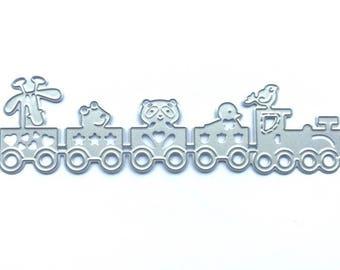 Animal train for machine cutting die