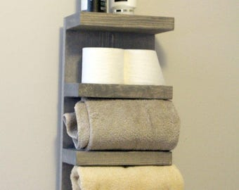 Everyday Towel Rack, Bathroom Towel Rack, 4 Tier Bath Storage, Everyday Towel  Rack