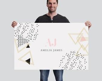 Amelia James Banner (SMALL - 2.5' x 4') | GEO