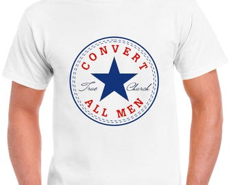 Convert All Men T-shirt