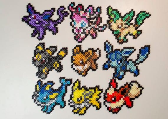 Volutions de evoli pokemon sprites snes d coration jeux - Famille evoli pokemon ...