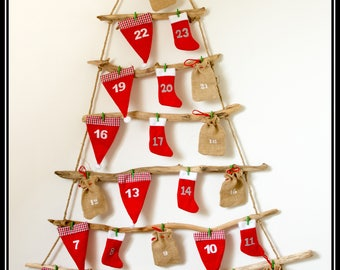 Calendrier avent etsy - Calendrier avent a remplir ...