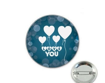 Love wedding badge - Badge 32mm