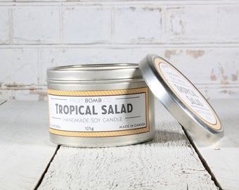 Tropical Salad Natural Soy Candle