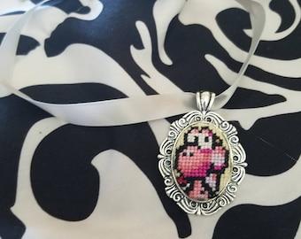 Pink Yoshi choker