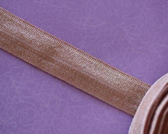 old pink elastic Ribbon