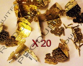 20 protection gold Angle shockproof and embellishment for furniture box trunk corners