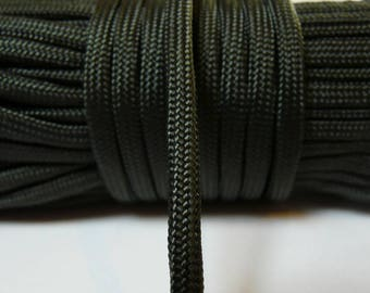 Rope paracord 550 green 4 mm 7 strands per meter