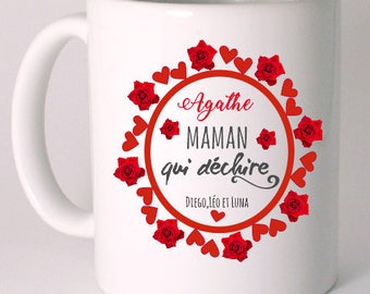 "CERAMIC MUG customized ""SPECIAL mother's day"""