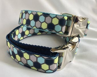 "TrendyHex 3/4"" or 1"" dog collar"