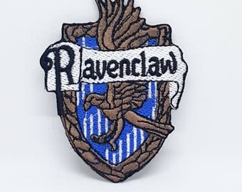 917# HARRY POTTER RAVENCLAW Iron/Sew on Embroidered Patch