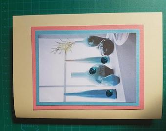 Handmade Blank Greeting Cards/ 1pc