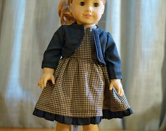 18 inch doll clothes - Sunday Best Doll Dress