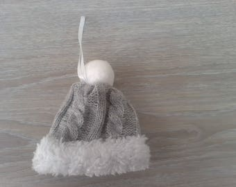 Christmas decoration to hang your Christmas tree Hat wool