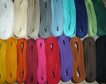 RIBBON TRIM WOVEN PURPLE COTTON ¤ 290 CM