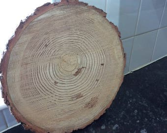 Solid wood Slices in various sizes