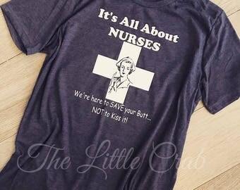 All About Nurses Tee