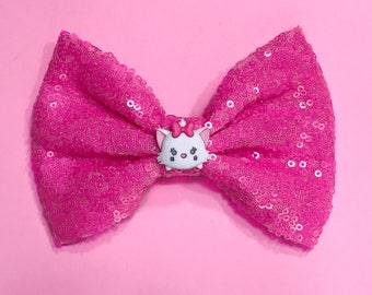 Marie Hair Bow Disney Inspired The Aristocats Bow