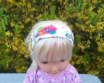 headband girl in a jersey fabric