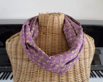 snood scarf made with high quality fabric