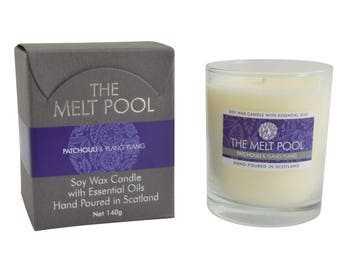 Medium Tumbler Candle - Patchouli & Ylang Ylang