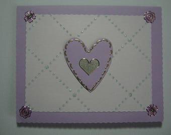 """""""Love doves"""" card"""