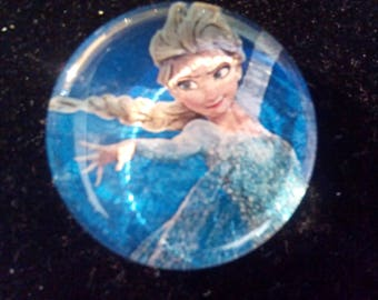 """Cabochons for pendants """"The snow Queen"""""""