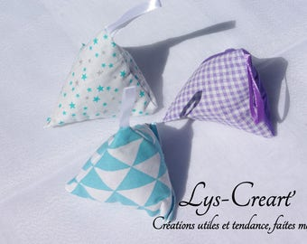 Stuffed with lavender, set of 3 - by Creart Lily '