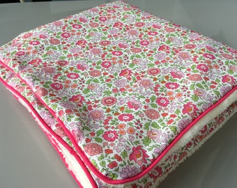 Customizable liberty baby/toddler blanket