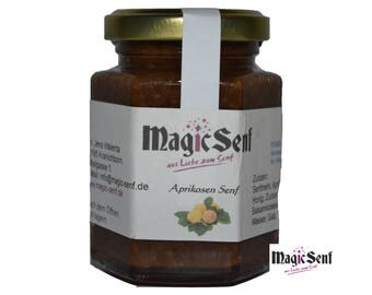 Apricot mustard, lightly sweet with delicate apricot. (3.35 EUR / 100 ml)