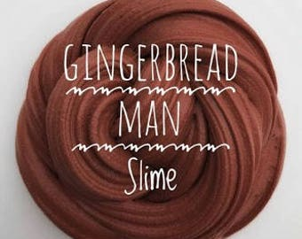 Gingerbread Man Slime SCENTED