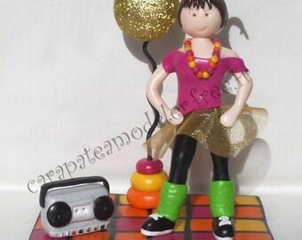 Door photo dancer from the 80s
