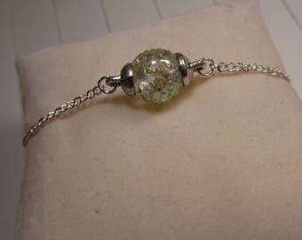 """The bracelet """"Crystal"""" Creat'Y. O.N - silver & precious-"""