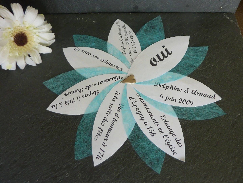 Bien-aimé Lot de 80 Faire-part mariage original avec enveloppe YU61