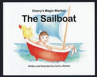 Children's Bath Time Book - Sailboat Adventure ~ Picture Book