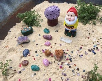Crystal Gnome Garden Starter Kit