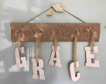 Letter Wall Decor