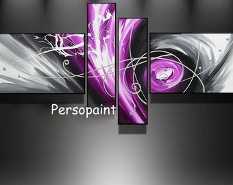 Tables design black grey purple Dark purple XL 180 cm