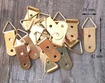 10 clasps hook fastening #120019 for frame mirror Paint picture frame