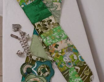"""Mint cordial"" fabric hip belt"