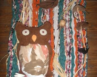 Wall decor OWL symbol of wisdom