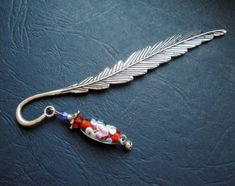 Charm and bead bookmark