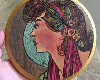 Alphonse Mucha Altered Reproduction