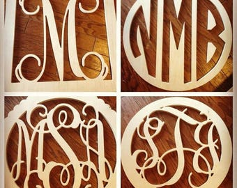 Small sized initial