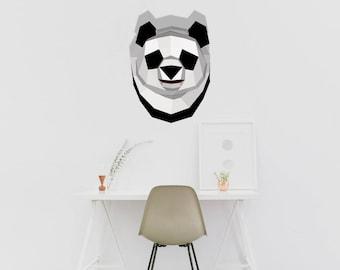 Panda Wall Decoration Bear