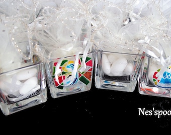 NES'spoon / holder sweets for ceremony