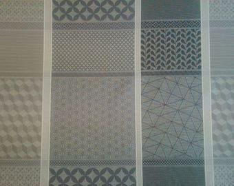 Oscar laminated cotton fabric wide width