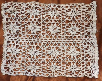2 vintage doilies is a pretty pair identical