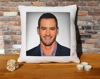 Mark-Paul Gosselaar Pillow Cushion - 16x16in - White